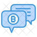 Support Money Bitcoin Cryptocurrency Support Bitcoin Bitcoin Message Icon