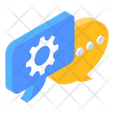 Chat Setting Chat Configuration Chat Management Icon