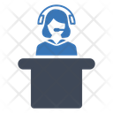 Support Desk Service Icon
