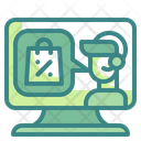 Support Monitor Support Service Help Icon
