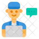 Call Center Logistics Customer Icon