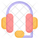 Support Headset Service Icon