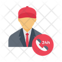 Call Support Avatar Icon