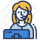 Support Assistance Operator Icon