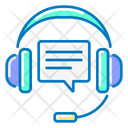 Support Service Support Headphones Icon