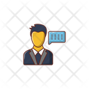 Support Message Employee Icon