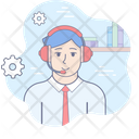 Contact Support Center Icon