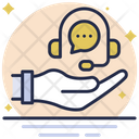 Support Services Help Line Support Icon