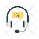 Support Services Discount Icon