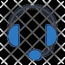 Support Headset Earphone Icon