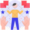 Supporter Votter Support Icon