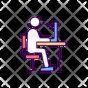 Posture Correction Back Icon