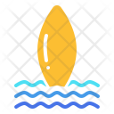 Surf Surfing Board Icon