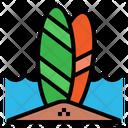 Surf Board Sport Icon