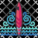 Surf Board Icon