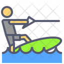 Surf boat Icon