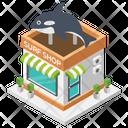 Surf Shop Fish Shop Fish Meat Icon