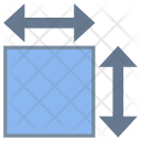 Surface Dimension Icon