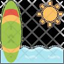 Surfboard Surfing Equipment Icon