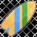 Surfboard Funboard Boogie Board Icon