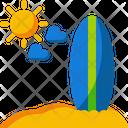 Surfboard Surf Summer Icon