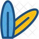 Surfboard Surfing Sports Icon