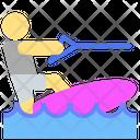 Surf Surfer Surfing Icon