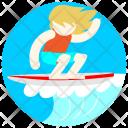 Surfer Avatar Job Icon