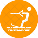 Surfing Skiing Water Icon