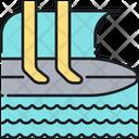 Surfing Icon