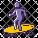 Surfer Icon