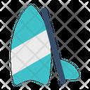 Surfing Board Surfboard Icon