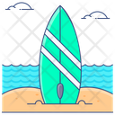 Surfing Water Olympic Water Sports Icon