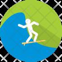 Surfing Sport Summer Icon