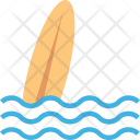 Surfboard Surfing Water Icon