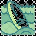 Surfing Board Surfing Surfboard Icon