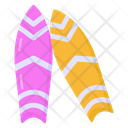 Surfing Boards Icon