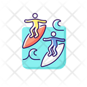 Surfing Safety Mate Icon