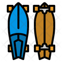 Surfskate Skateboard Surf Icon