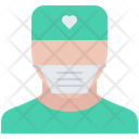 Surgeon Doctor Mask Icon