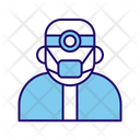 Surgeon Doctor Medical Man Icon