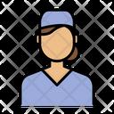 Surgeon Nurse Medical People Icon