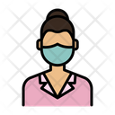 Surgeon Nurse Medical People Icon