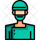 Surgeon Doctor Medical Assistant Icon