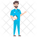 Surgeon Doctor Male Physician Icon