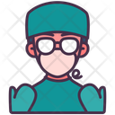 Surgeon Doctor Avatar Icon