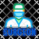 Surgeon Doctor Scalpel Icon