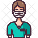 Avatar Nurse User Icon