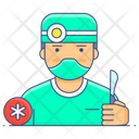Doctor Physician Therapist Icon