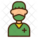 Surgeon Face Mask Doctor Icon